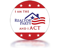 Vote Button - I am the Realtor Party and I ACT