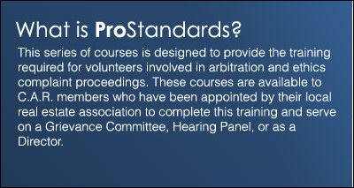 What is ProStandards?